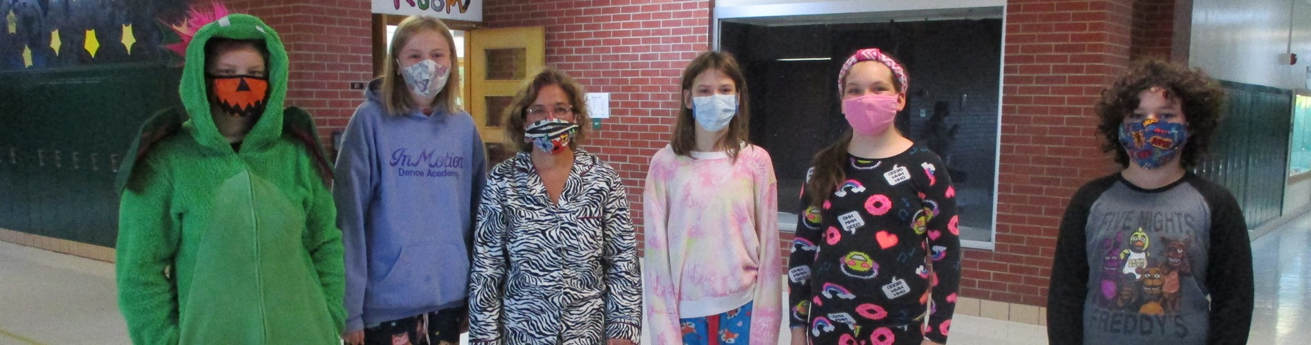 Pajama Day at Northeast